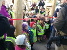 We were at the opening of the new Kings Park play park